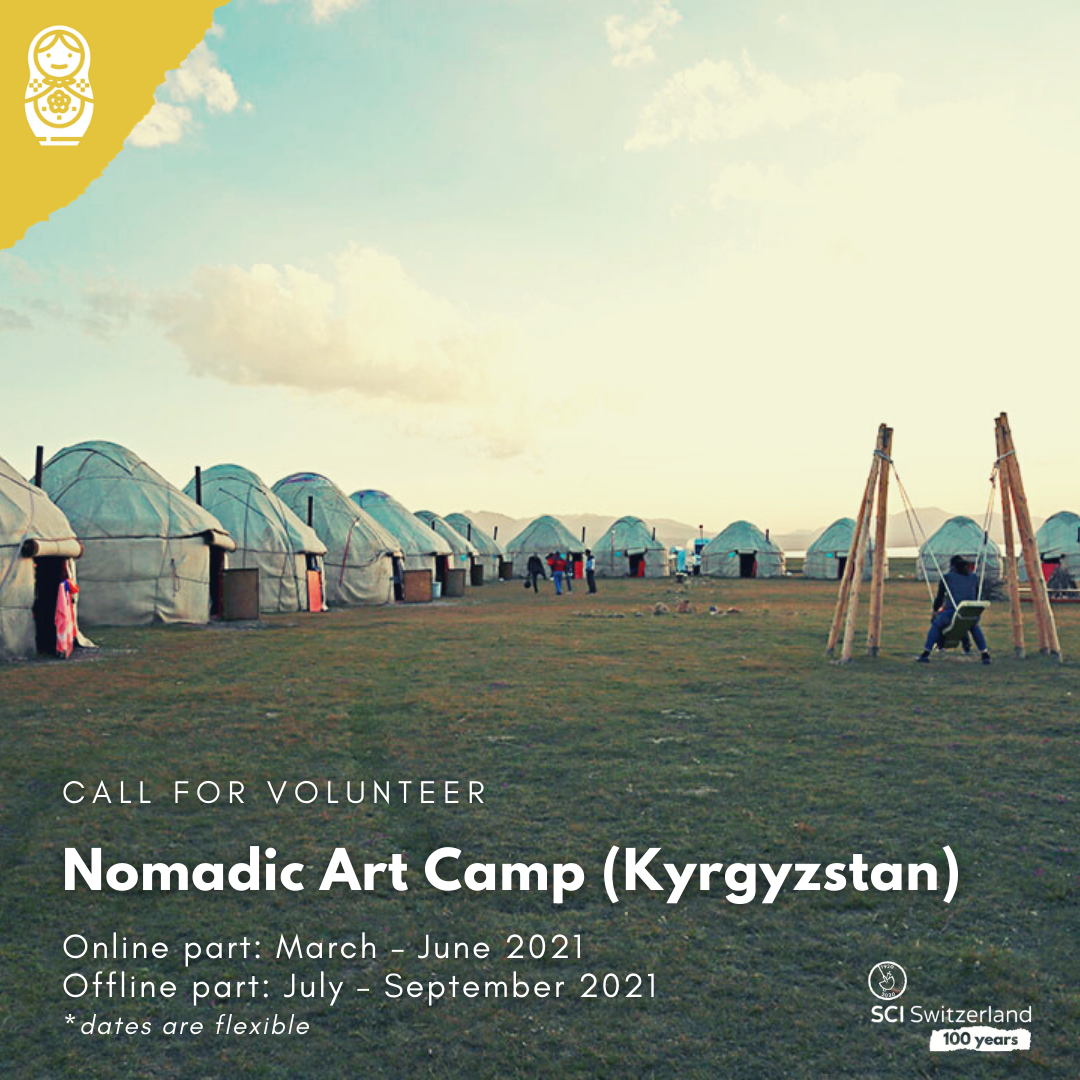 Nomadic Art Camp brings together participants from different continents, is dedicated to creating international dialogue around topics like bio-cultural diversity, environmental threats, consumer culture, and the impact of nomadic life on communities.