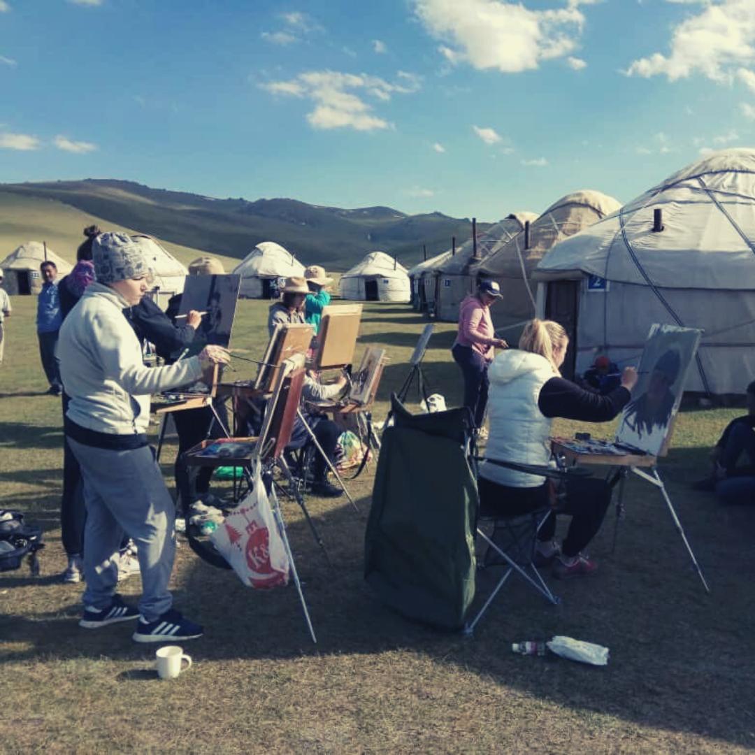 Nomadic Art Camp