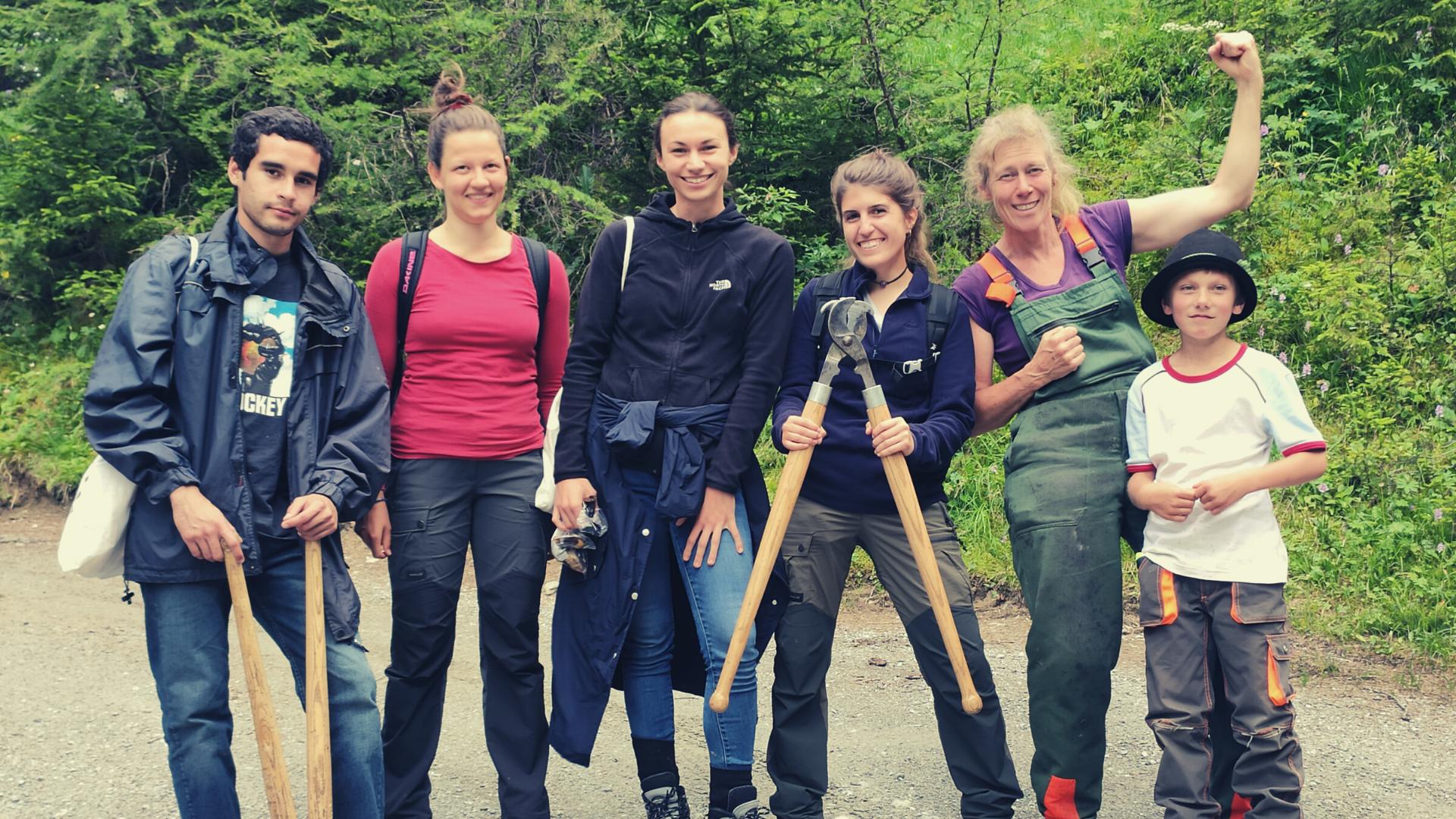 Der SCI Schweiz unterstützt ökologische, soziale und kulturelle Projekte durch Freiwilligeneinsätze.