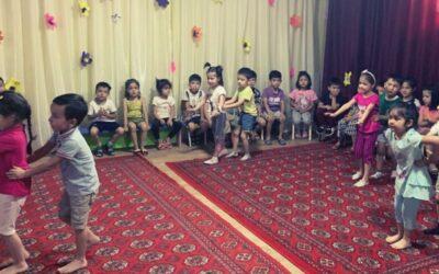 Volunteering in a private school in Uzbekistan